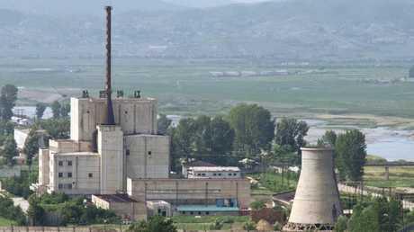 الموقع النووي في يونغ بيون في كوريا الشمالية
