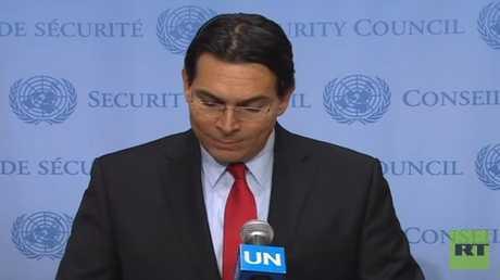 مندوب إسرائيل لدى الأمم المتحدة داني دانون