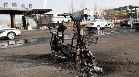 مقتل 22 شخصا وإصابة 22 آخرين بانفجار في مدينة زانجياكو شمال الصين (صور)