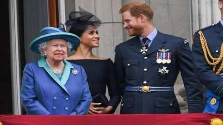 ما هي الكلمة المتعلقة بميغان ماركل التي تعتبرها الملكة