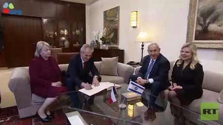 شجب فلسطيني لتصريحات الرئيس التشيكي