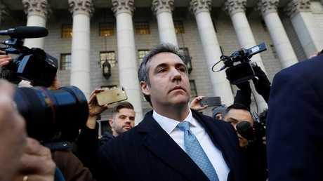 مايكل كوهين المحامي السابق للرئيس الأمريكي دونالد ترامب
