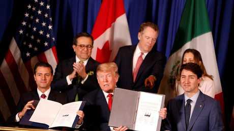 الولايات المتحدة وكندا والمكسيك توقع اتفاقا تجاريا بديلا لـ