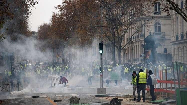 احتجاجات في باريس، 1 ديسمبر، 2018