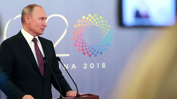 بوتين متفائل بجهود موسكو وأنقرة لإنشاء منطقة منزوعة السلاح في إدلب السورية