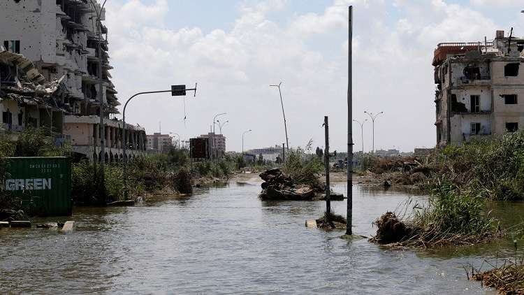 ليبيا.. الأمطار الغزيرة تغمر شوارع بنغازي ووزارة التعليم تعلق الدروس