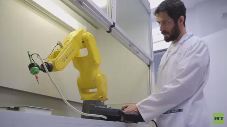طابعة حيوية ثلاثية الأبعاد إلى الفضاء