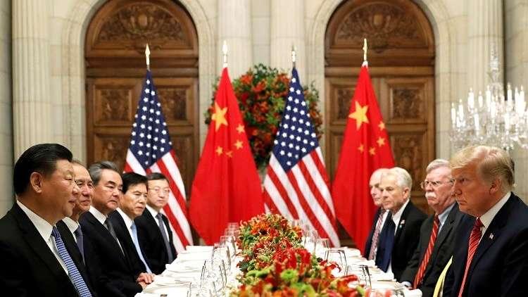 مأدبة عمل أمريكية صينية في بوينس آيرس، الأرجنتين في 1 ديسمبر 2018