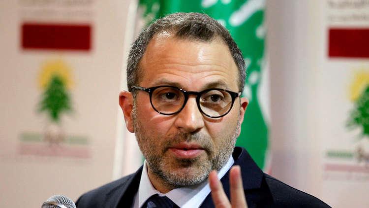 باسيل: نعمل مع سوريا لفتح الطريق البري من لبنان إليها والعراق