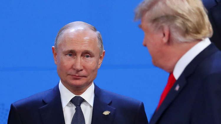 بوتين: سنرد بما يناسب إذا نسفت الولايات المتحدة معاهدة الصواريخ المتوسطة والقصيرة المدى