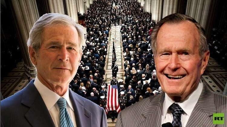 آخر ما تلفظ به جورج بوش قبل رحيله: أنا ذاهب إلى الجنة