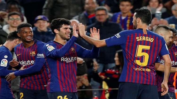 بدلاء برشلونة يتأهلون إلى ثمن نهائي كأس إسبانيا (فيديو)