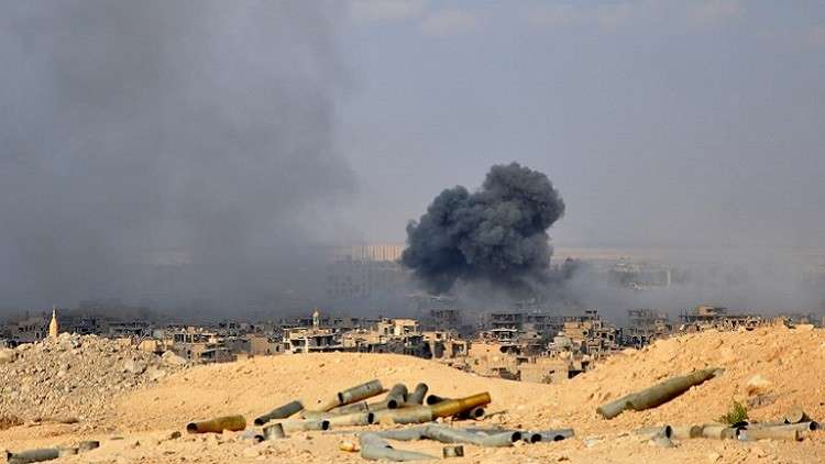 مقتل 5 مدنيين بغارات لتحالف واشنطن على شرقي سوريا