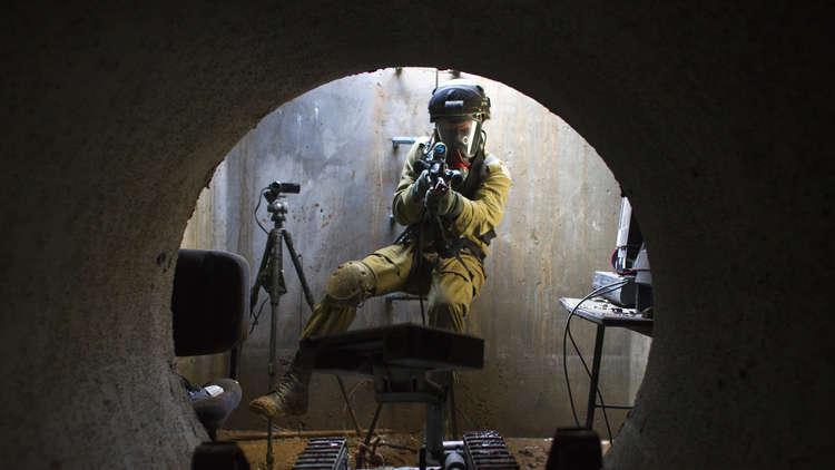 الجيش الإسرائيلي يتوغل تحت الأرض
