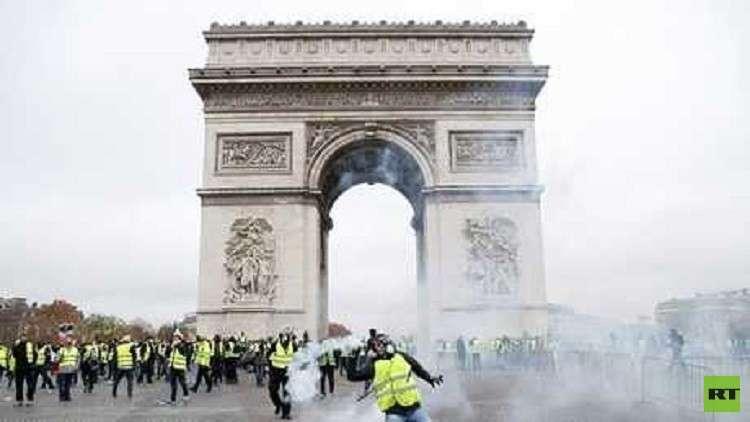 احتجاجات فرنسا تتسبب بتأجيل مباراة جديدة في دوري كرة القدم