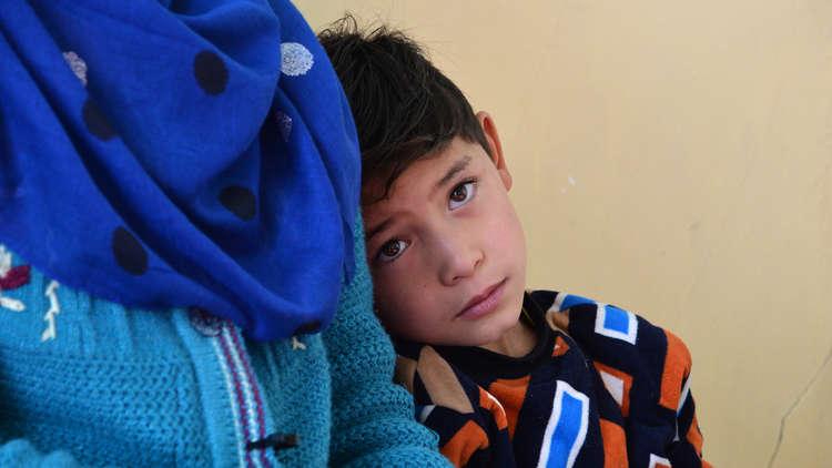 حلم الطفل الأفغاني