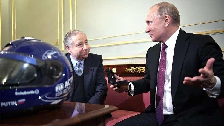 بوتين يرحب بالمشاركين في اجتماعات الجمعية العامة للاتحاد الدولي للسيارات في بطرسبورغ