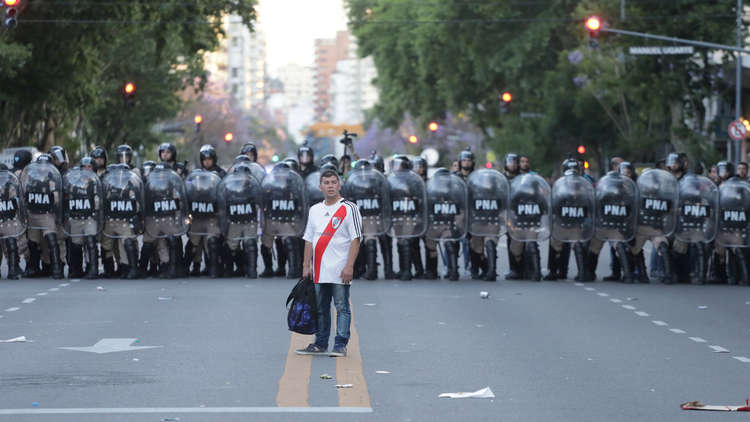 4 آلاف شرطي في مدريد تأهبا لنهائي كوبا ليبرتادوريس