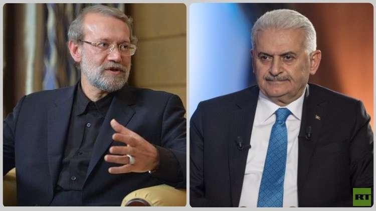 يلديريم: الأتراك والإيرانيون إخوة وأصدقاء