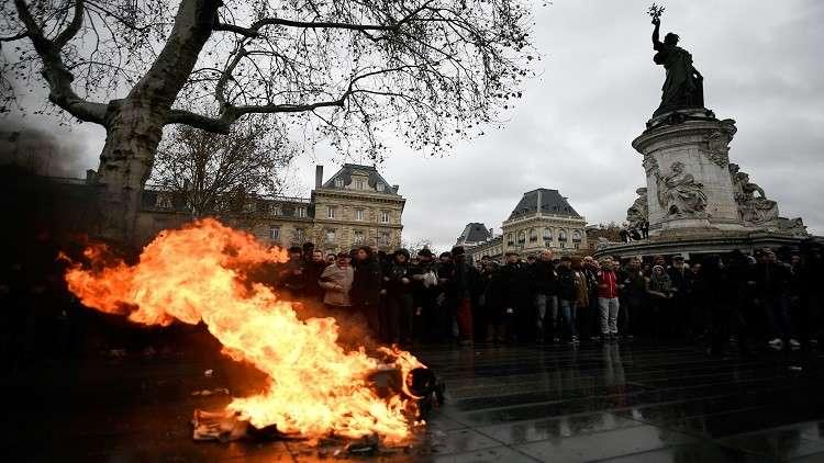 فرنسا تشهد موجة ساخنة جديدة من الاحتجاجات