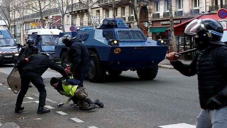 تعليق سوري على احتجاجات فرنسا: