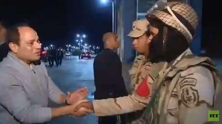عسكري مصري للسيسي: