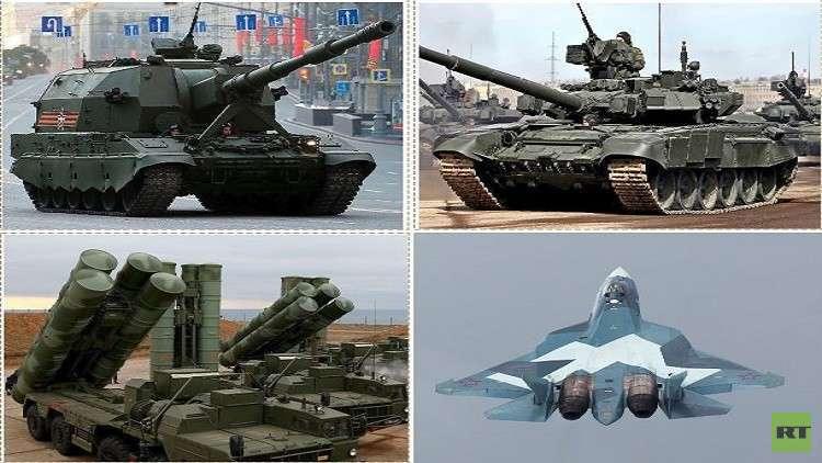 روسيا الثانية عالميا في تصدير السلاح
