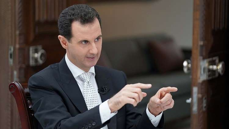 الأسد: سلطنة عمان فهمت أبعاد الحرب على سوريا!