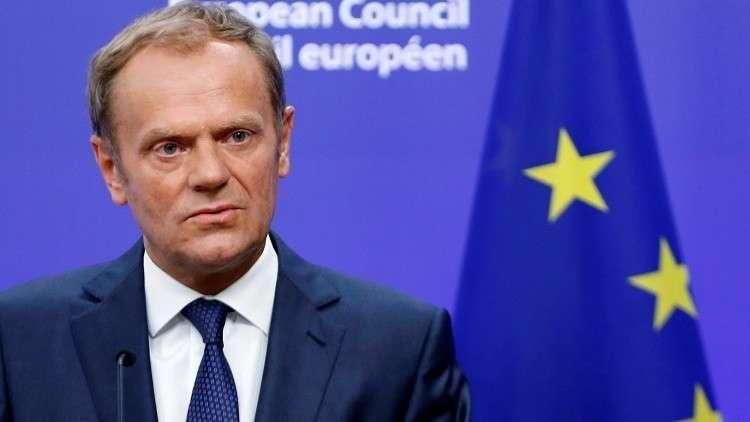 توسك يرفض إعادة التفاوض مع لندن على