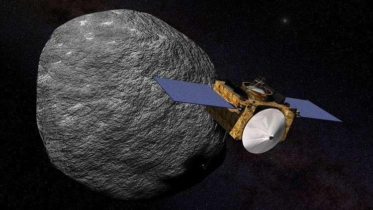 اكتشاف آثار الماء على كويكب