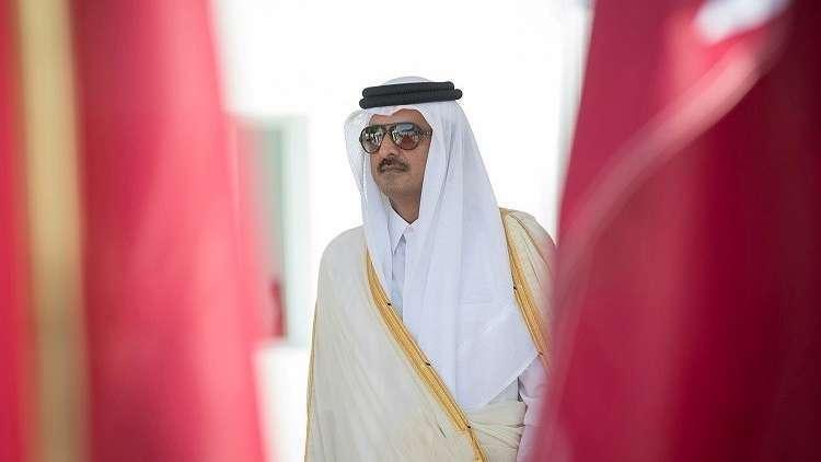 أمير قطر يكشف عن أحد أهداف
