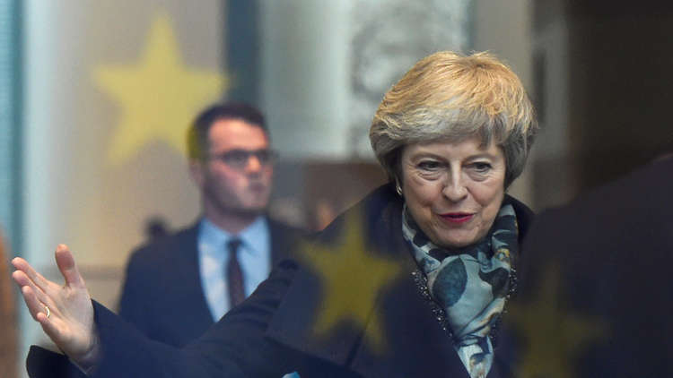 اقتراع داخل حزب المحافظين البريطاني على سحب الثقة من تيريزا ماي
