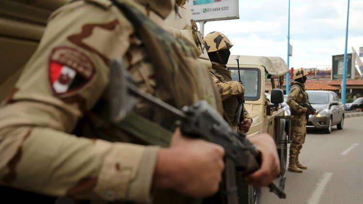 الجيش المصري يعلن نتائج جديدة لعملية سيناء 2018