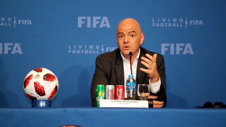 رئيس الفيفا: عزلة قطر لم تعرقل تحضيراتها لمونديال 2022