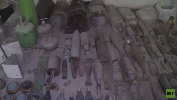 تواصل أعمال التمشيط في غوطة دمشق الشرقية