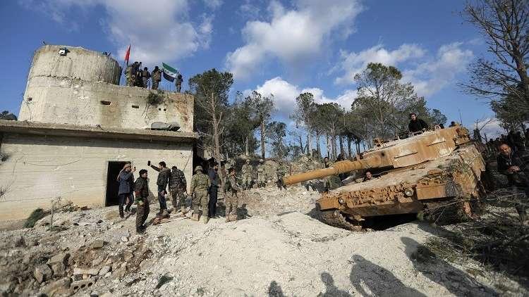 15 ألف عنصر في المعارضة السورية يشاركون بهجوم تركي ضد الأكراد في سوريا