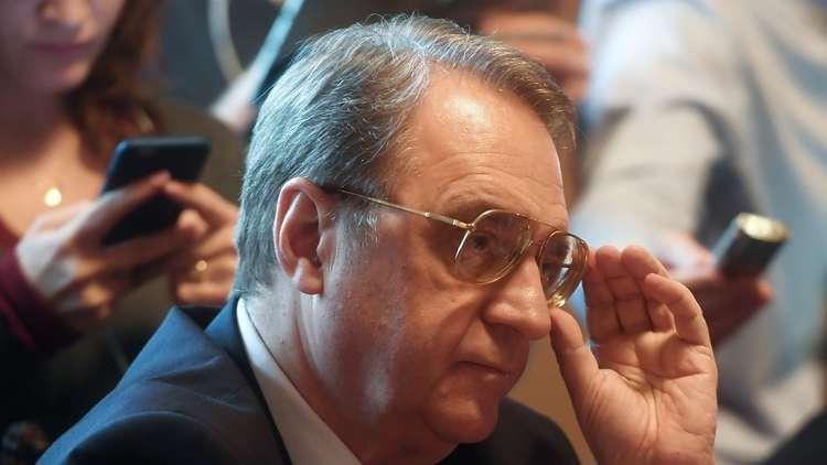 بوغدانوف: ناقشنا مع الأسد الوضع السياسي وتنفيذ الاتفاقيات السابقة