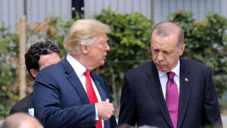 أردوغان وترامب يبحثان التطورات الأخيرة في سوريا على عتبة العملية التركية شرق الفرات