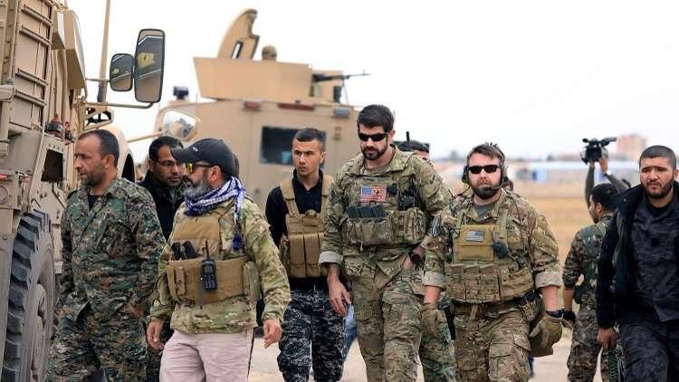 التحالف الدولي بقيادة أمريكا يعد أكراد سوريا بعدم تركهم لقمة سائغة لهجوم تركي!