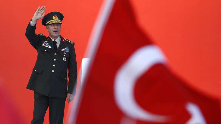 وزير الدفاع التركي: نأمل في استئصال