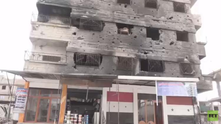 RT تنقل صورة الأوضاع في غوطة دمشق