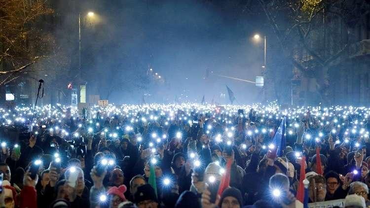 هنغاريا.. تظاهرة جديدة مناهضة لأوربان في بودابست