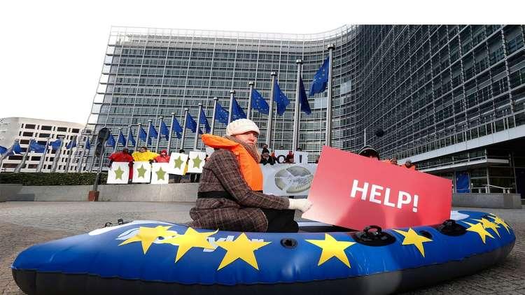 الاتحاد الأوروبي يواجه خطر الانهيار