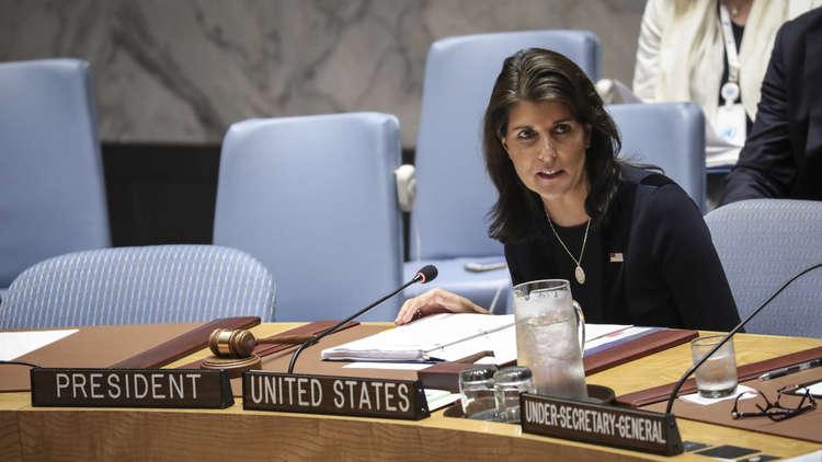 هايلي: العرب لا يهتمون بمصالح الفلسطينيين وصفقة القرن يصفها عباس بـ