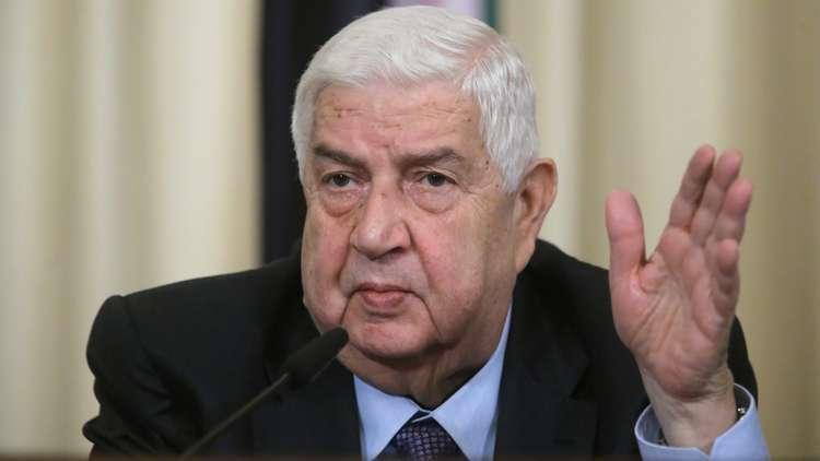 حصري لـRT: الخارجية السورية تنفي زيارة وليد المعلم لتونس