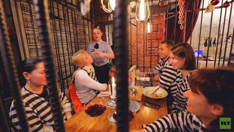 مطاعم في موسكو بانتظار هواة المزاح واللهو ودغدغة الأعصاب
