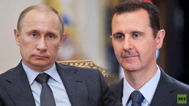 بوتين: العام القادم سيشهد انطلاق المرحلة السياسية من تسوية الأزمة في سوريا