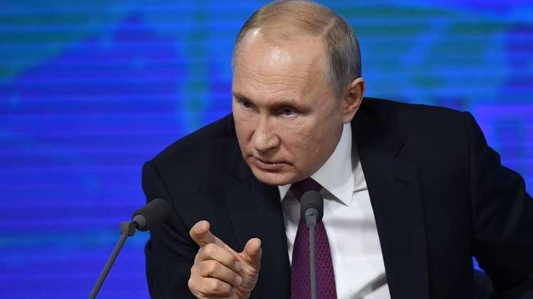بوتين: نعلم أين يقع مقر الجهة التي تسعى إلى التحكم بالعالم
