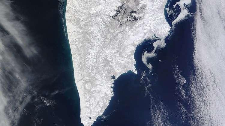 شبه جزيرة كامتشاتكا (صورة من الأرشيف)