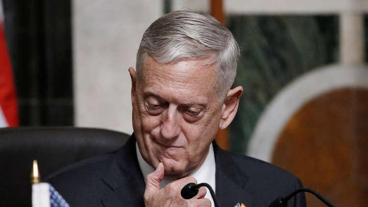 ترامب يعلن عن تقاعد وزير الدفاع الأمريكي ماتيس